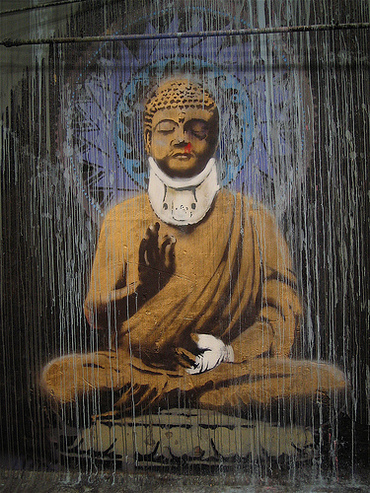 Banksy_buddha_2